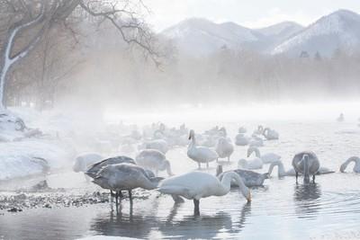Kussharo lake