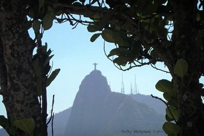 Corcovado from Pao De Acucar