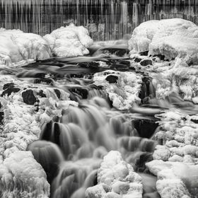"""NEW HAMPSHIRE Will Melt Your Heart""  The Cocheco Falls in Dover, New Hampshire, USA  © Pat Corlin Photography    All Rights Reserved www.Pa..."