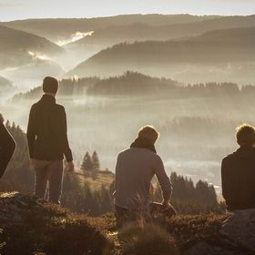 This is a picture that I shot with some friends in the black forest. We went um the hill pretty early in the morning. We had the most of fun havi...