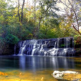 Mardis Mill falls in blount county Alabama
