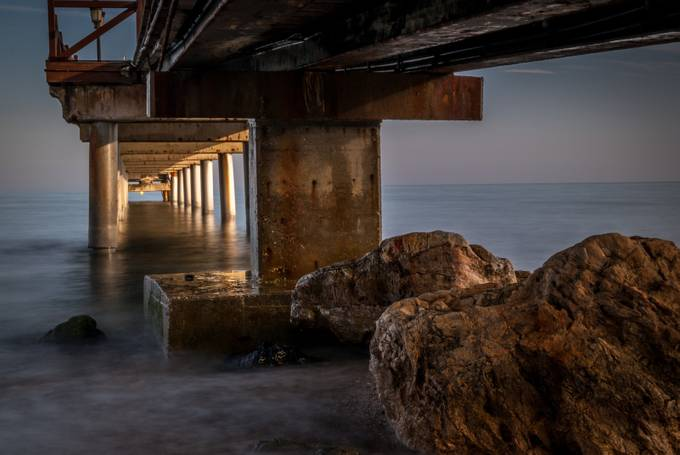 Under the pier by Christian-AndaluciaEnFoto - The View Under The Pier Photo Contest