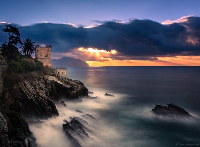 Nervi Sunrise by Tiziano - Enchanted Castles Photo Contest