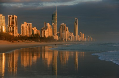 Early morning on the Gold Coast