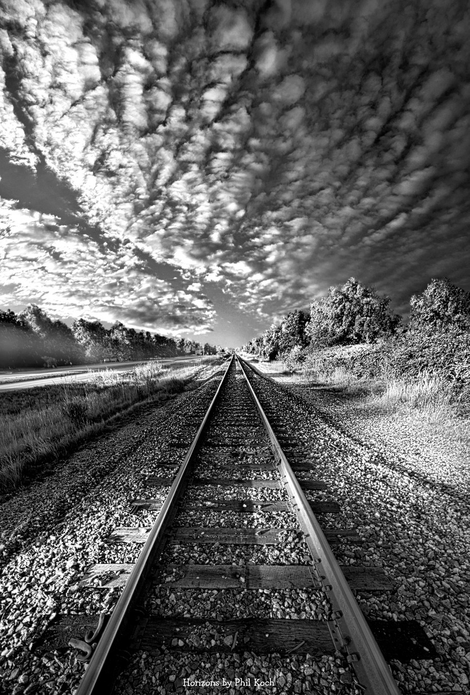 All The Way Home by phil1 - A Black And White World Photo Contest