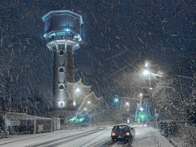 WINTER IN TOWN by nikosladic - Night Wonders Photo Contest