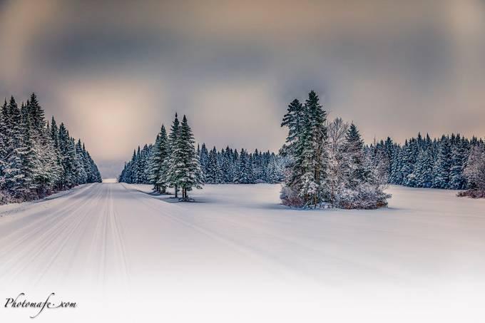 St-Leon-de-Standon by mafe - Winter Roads Photo Contest