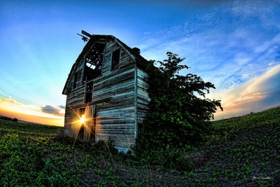 barn door is open