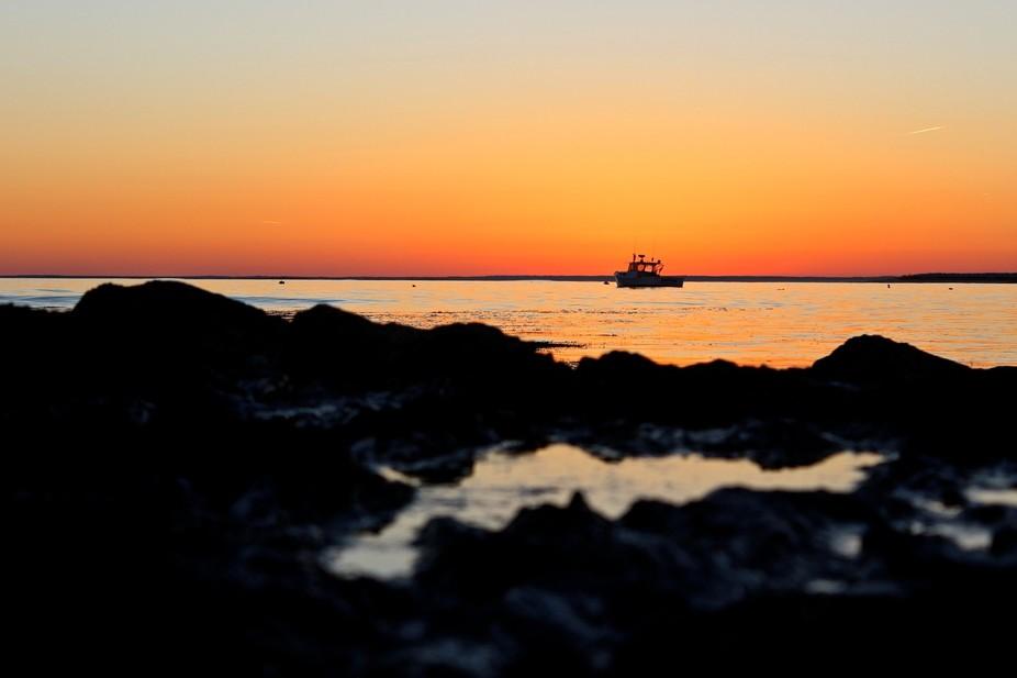 Taken at Kettle Cove in Cape Elizabeth, Maine.