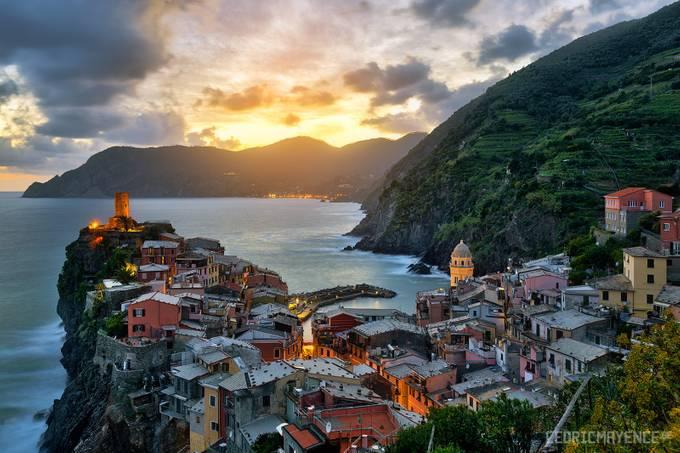 Vernazza - Cinque Terre - Italy by CedricMayence - Photogenic Villages Photo Contest