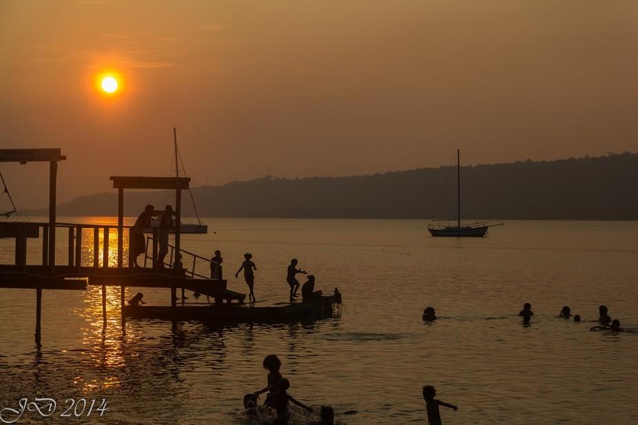 Silhouette - The Beach Bar - Vanuatu