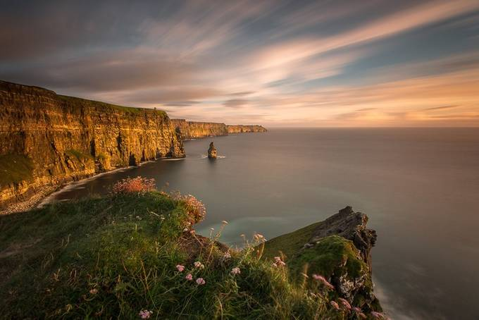 Cliffs of Moher by marekbiegalski - Photos With Filters Photo Contest
