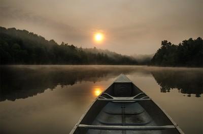 Sunrise on Buck Lake