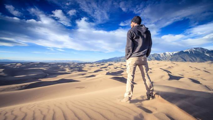 Great Sand Dunes by ChristopherLH - Amazing People Amazing Places Photo Contest