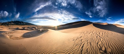 Great Sand Dunes Pano