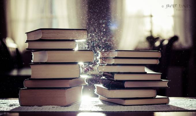 Books and Dust by javluc - Creative Reality Photo Contest