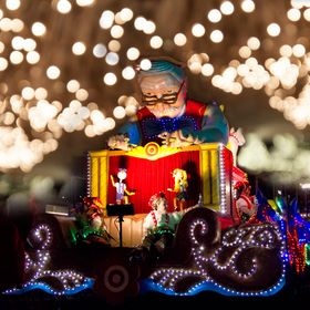 Geppetto was the one who carved Pinocchio. This float was paraded in the City of Minneapolis, Minneosta, USA.  Copyright Notice: ALL IMAGES on th...