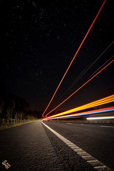 Travelling in the night