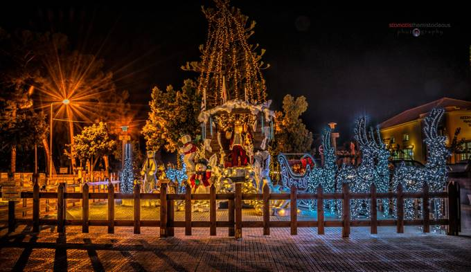 Christmas 2014 by StamosD600 - Holiday Lights Photo Contest 2017