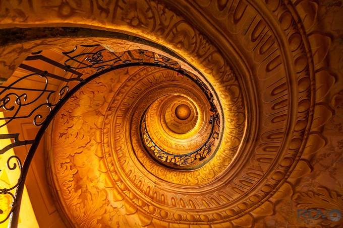 Spiral Melk Abby by RDVPhotography - Stairways to Heaven Photo Contest