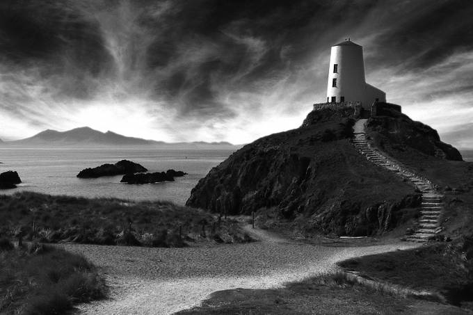 Llanddwyn Lighthouse by donaldbrotherston - Unforgettable Landscapes Photo Contest by Zenfolio
