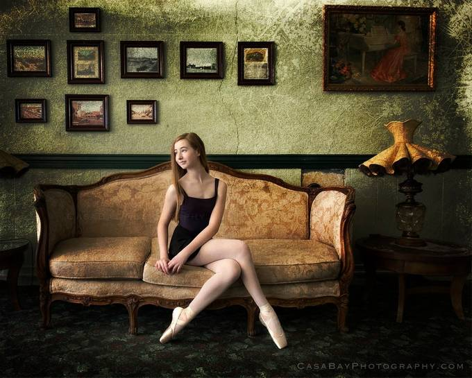 Ballerina by CasaBay_Photo - My Favorite Chair Photo Contest