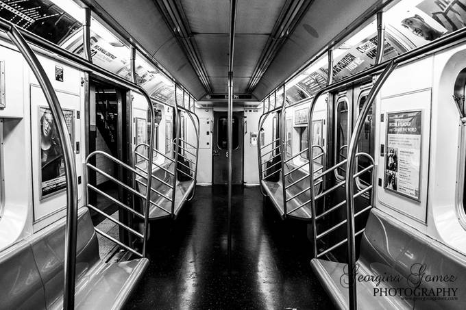 Subway Car by ginag0108 - Metallic Matter Photo Contest
