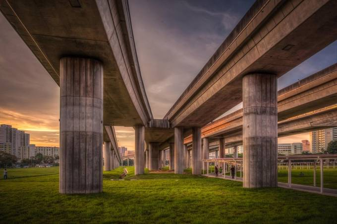 modern life by johnphillips - Under The Bridge Photo Contest