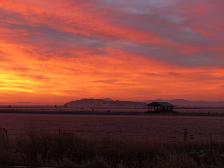 A minus 20 degree morning in Keno, Oregon