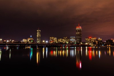 Boston, MA - Long Exposure - Night