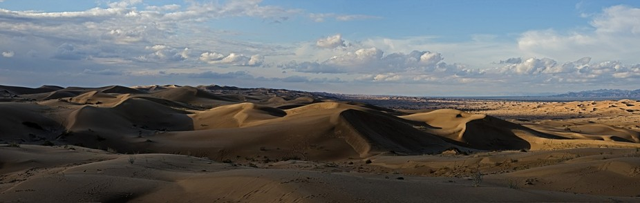 Pano of the dunes