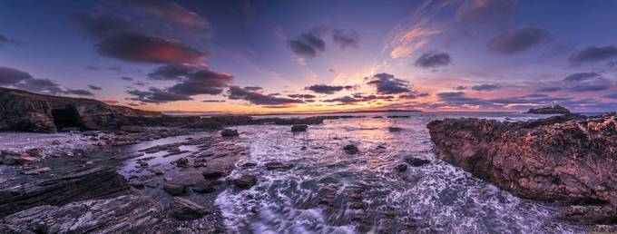 Godrevy Panorama by JohnHPhotography - Visuals of Life Photo Contest