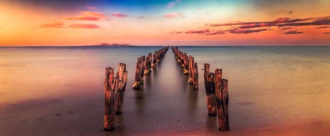Path to Sea by MargaretN - The Zen Moment Photo Contest