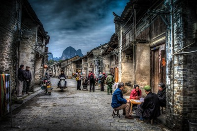 Through Ancient Streets