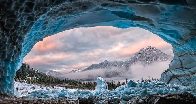 Ice Cave With A View by jasonmatias