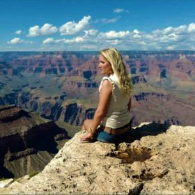 Martha at the Grand Canyon Arizona