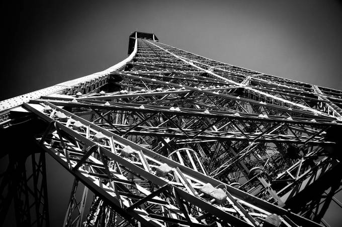 Eiffel Tower Perspective by rogerminton - Clever Angles Photo Contest
