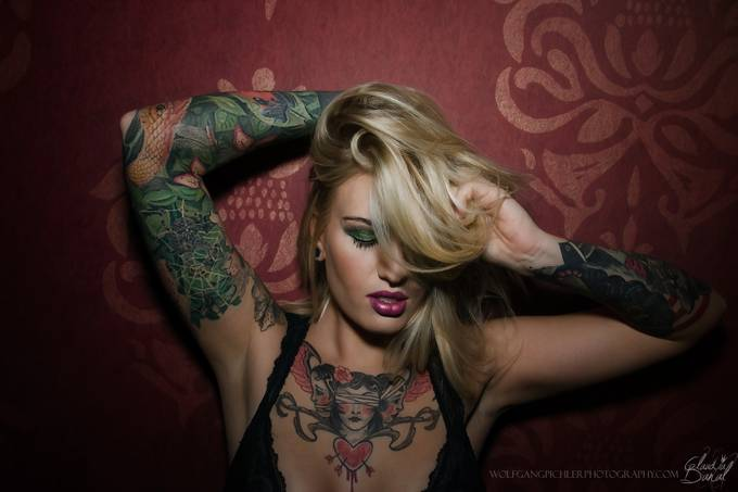Claudia by WolfgangPichler - Her In The Studio Photo Contest