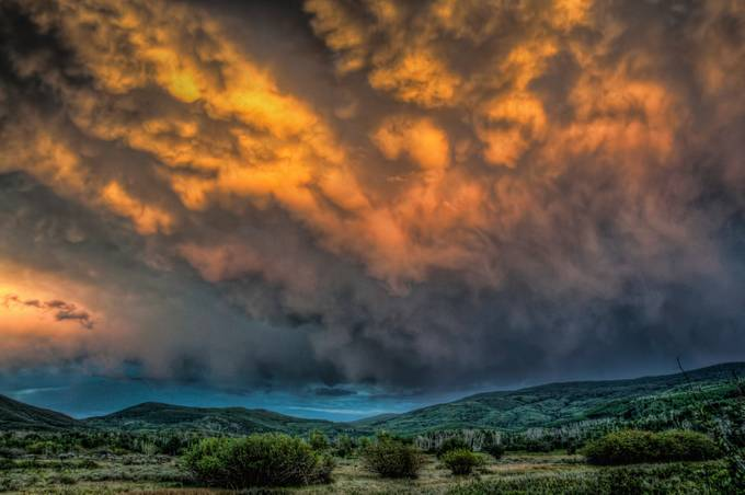 Mountain Storm by JourneysInLight - Cloud Painting Photo Contest