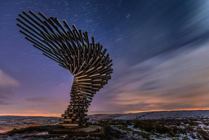 The singing ringing tree by jamesrushforth - Metallic Matter Photo Contest