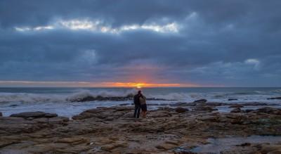 Sunset at Misty Cliffs