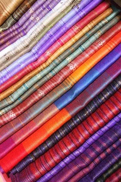 Linens at the Otavalo Craft Market