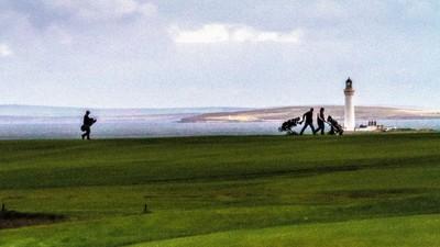 Pissaro Plays Golf
