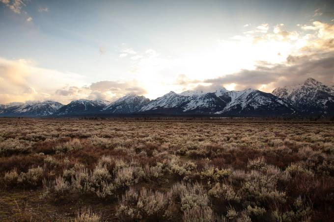 The Tetons by HappyTree - National Parks Photo Contest