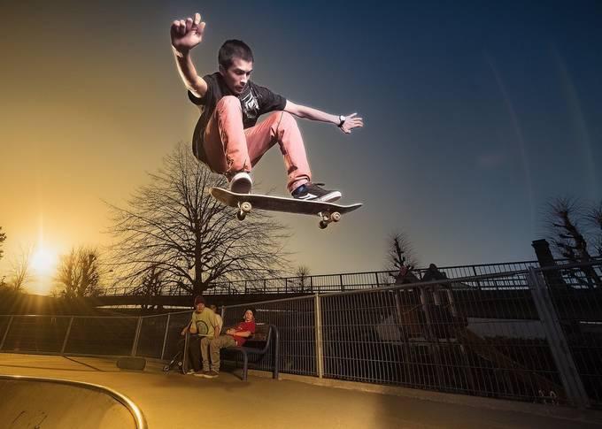 | skateboard | by Photojovan - Fill Flash Photo Contest
