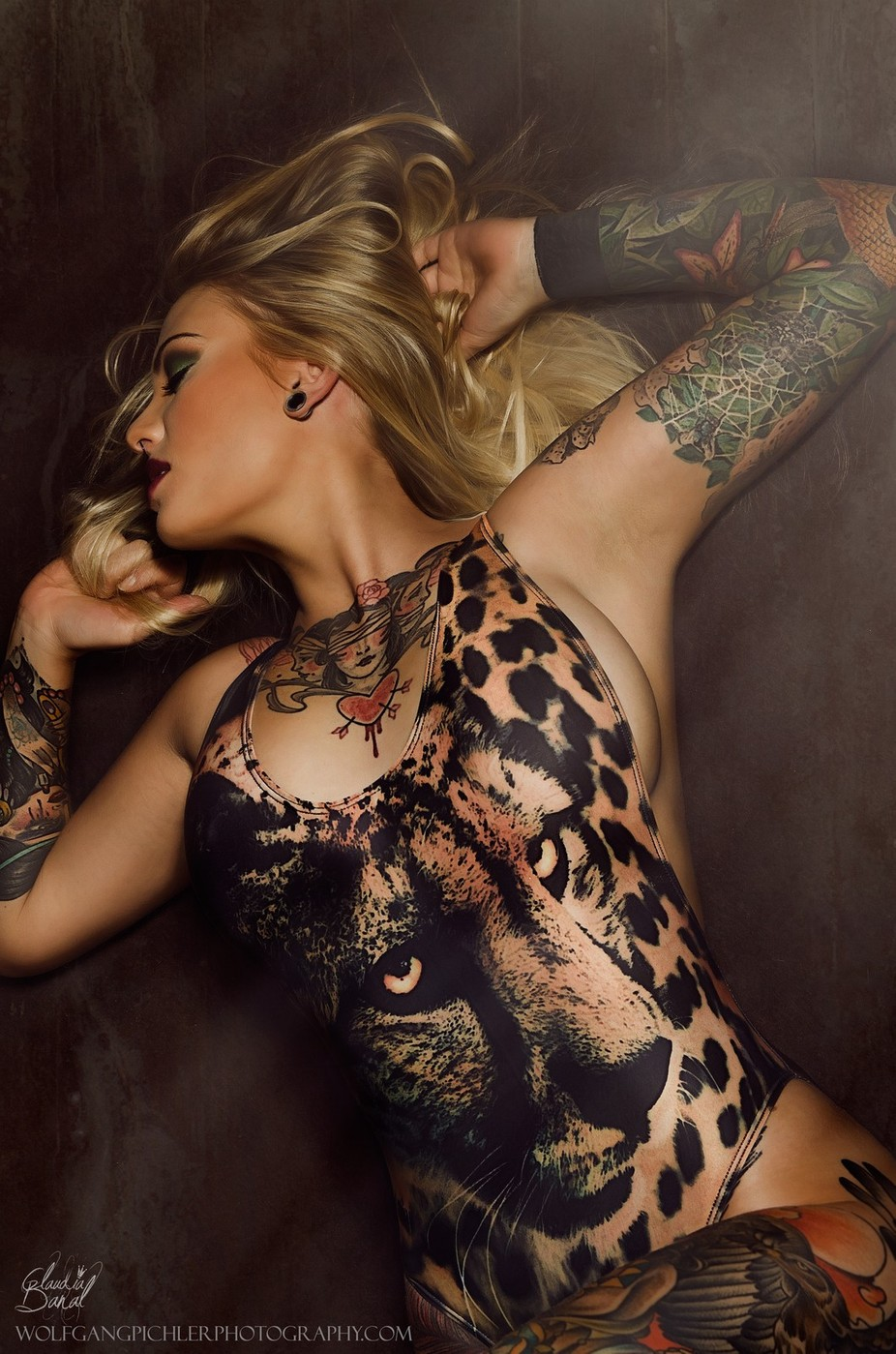 Claudia by WolfgangPichler - 500 Tattoos Photo Contest