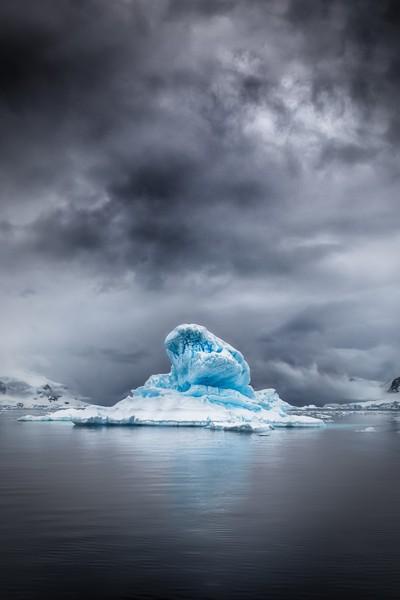 Grey Storm Blue