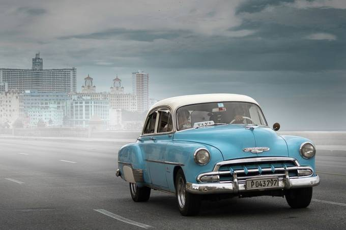 Cuban Taxi by gillestarabiscuit - Image of the Year Photo Contest by Snapfish