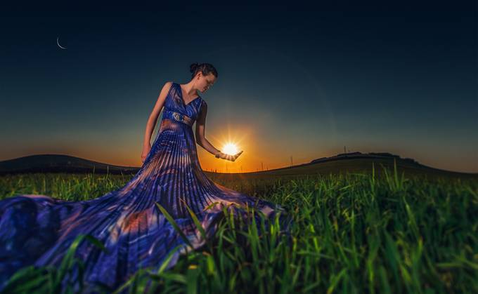 The sun by victorpictor - Amazing People Amazing Places Photo Contest