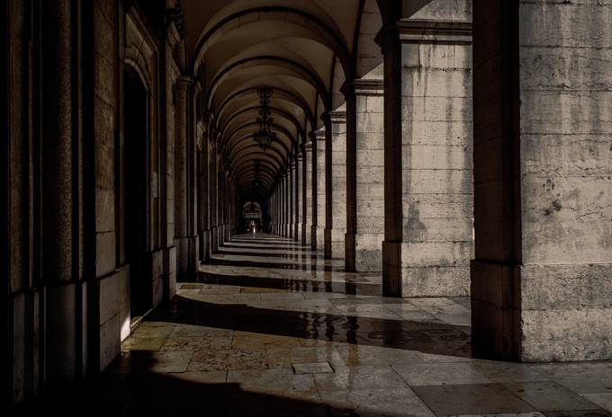 In The Hall by jletria - Classical Architecture Photo Contest